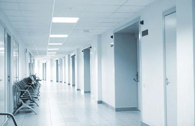 Service de propreté et d'hygiène en milieu médical